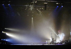 DANCE lighting design in the model theatre 'SWAN SEA'- 1:4 Two Day Workshop