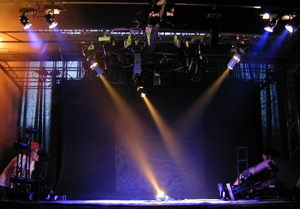 OPERA lighting design in the model theatre 'ONEGIN'- Henk van der Geest 1:4 Two day Workshop