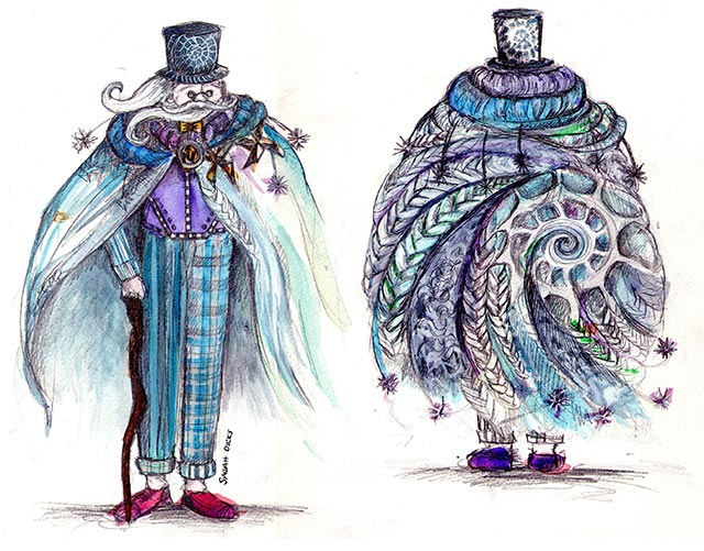 Costume Design For The